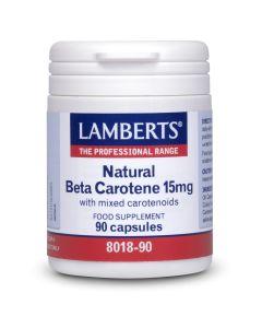 Lamberts Natural Beta Carotene 15mg, 90caps