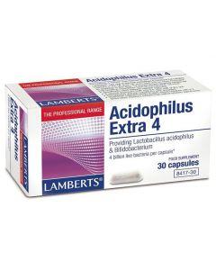 Lamberts Acidophilus Extra 4, 30caps