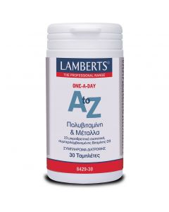 Lamberts A to Z Multivitamins, 30tabs