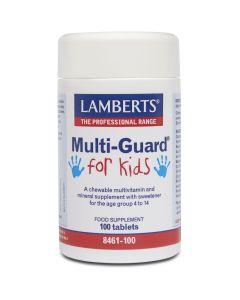 Lamberts Multi Guard For Kids, 100tabs