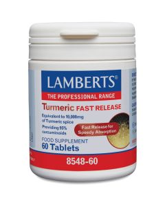 Lamberts Turmeric Fast Release, 60tabs