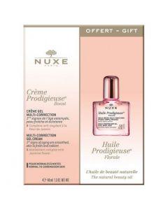 Nuxe Creme Prodigieuse Boost Gel Cream, 40ml & ΔΩΡΟ Huile Prodigieuse Floral, 10ml