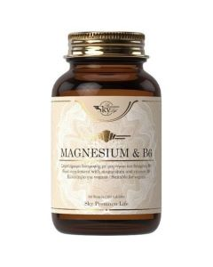 Sky Premium Life Magnesium & Vitamin B6, 60tabs