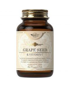 Sky Premium Life Grape Seed & Vitamin C, 60caps