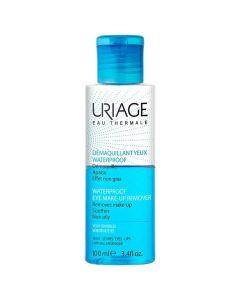 Uriage Waterproof Eye Make-Up Remover, 100ml