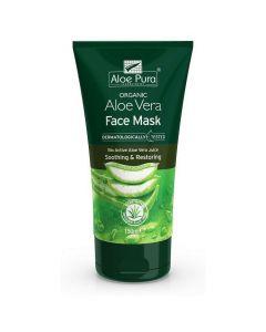 Optima Naturals Organic Aloe Vera Face Mask, 150ml