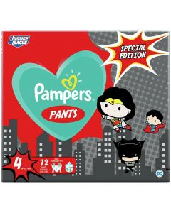 Pampers Pants Special Edition Justice League Νο4 (9-15kg), 72τμχ