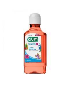 Gum Junior Rinse Στοματικό Διάλυμα με Γεύση Φράουλα, 300ml