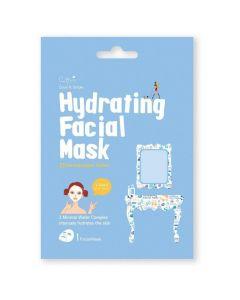 Cettua Hydrating Facial Mask Μάσκα Προσώπου για Ενυδάτωση & Θρέψη, 1τμχ