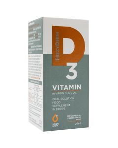 Frezyderm Vitamin D3 200iu, 20ml