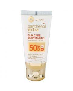 Panthenol Extra Sun Care Diaphanous Face Gel SPF50, 50ml