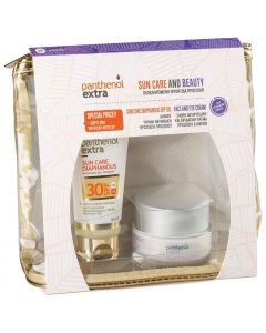 Panthenol Extra Promo Pack Sun Care Diaphanous Face Gel SPF30 50ml & Face and Eye Cream 50ml