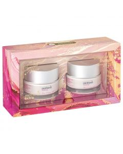Panthenol Extra Promo Daycare Rules Day Cream SPF 15, 2x50ml