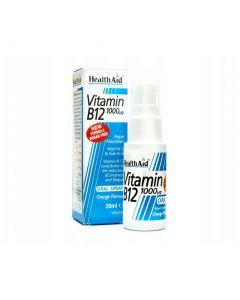 Health Aid Vitamin B12 1000mg Oral Spray, 20ml