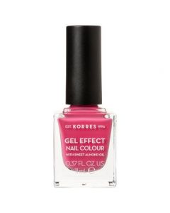 Korres Gel Effect Nail Colour No.20 Pink Parfait Rose, 11ml