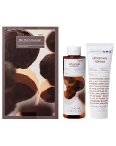 Korres The Men's Care Set Mountain Pepper Showergel 250ml & Aftershave Balm 125ml