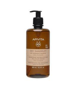 Apivita Dry Dandruff Σαμπουάν Κατά της Ξηροδερμίας με Σέλερι & Πρόπολη, 500ml