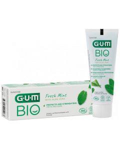 Gum Bio Fresh Mint Toothpaste with Aloe Vera Οργανική Οδοντόκρεμα που Προστατεύει & Ενδυναμώνει Δόντια & Ούλα, 75ml