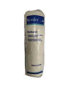 Kessler Ελαστικός Επίδεσμος Flexiband 15cm x 4,5m, 1τμχ