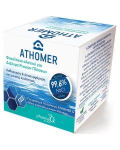 Athomer Φακελάκια Αλατιού για Διάλυμα Ρινικών Πλύσεων, 50τμχ x 2.5gr