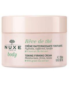 Nuxe Reve de The Toning Firming Cream Κρέμα Σύσφιξης Σώματος με Πράσινο Τσάι, 200ml