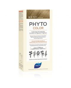 Phyto PhytoColor Very Light Golden Blonde No 9.3 Ξανθό Πολύ Ανοιχτό Χρυσό Μόνιμη Βαφή Μαλλιών, 1τεμ