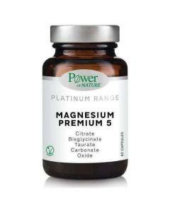 Power Health Platinum Magnesium Premium 5, 60caps