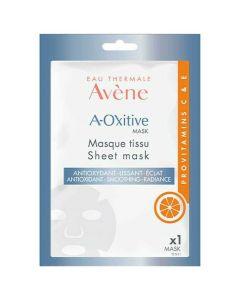 Avene A-Oxitive Υφασμάτινη Μάσκα Με Αντιοξειδωτική Δράση Για Λείανση & Λάμψη, 18ml