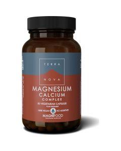 Terranova Magnesium Calcium Complex, 50 caps