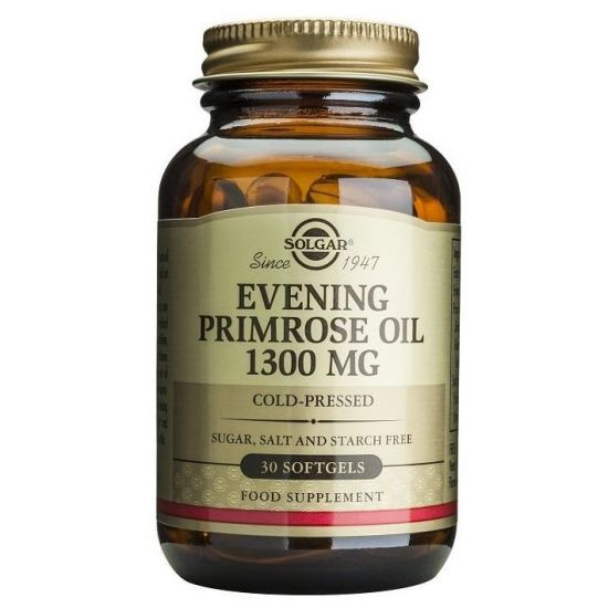 Solgar Evening Primrose Oil 1300mg, 30softgels