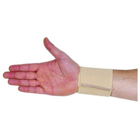 ADCO Περικάρπιο Ενισχυμένο Διπλής Περιέλιξης (03203) από υφαντό ελαστικό ύφασμα με επιπλέον δέστρα για μεγαλύτερη πίεση, Κλείσιμο με Velcro, Για σταθεροποίηση, πρόληψη & ήπιες παθήσεις - κακώσεις του καρπού, 1 τεμ