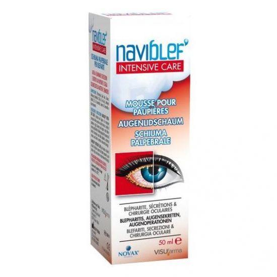 Naviblef Intensive Care Αφρός Βλεφάρων για Βλεφαρίτιδα, 50ml