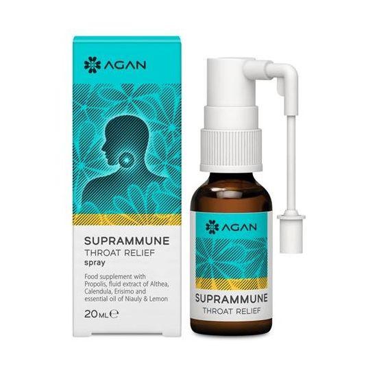 Agan Suprammune Throat Relief, 20ml