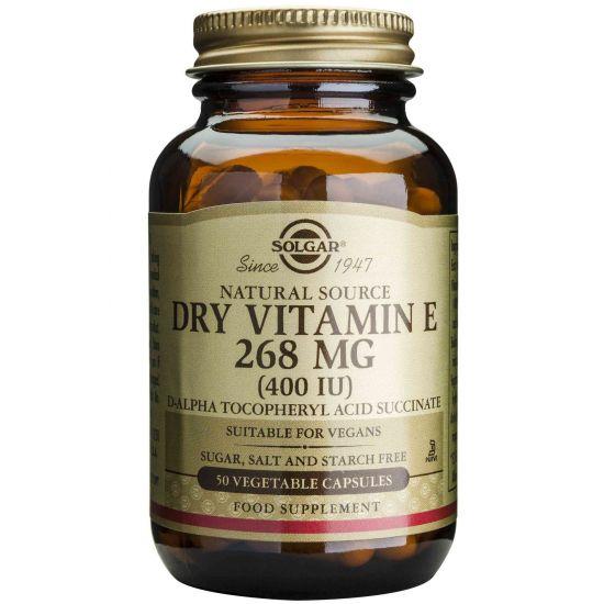 Solgar Vitamin E Dry 400IU, 50caps