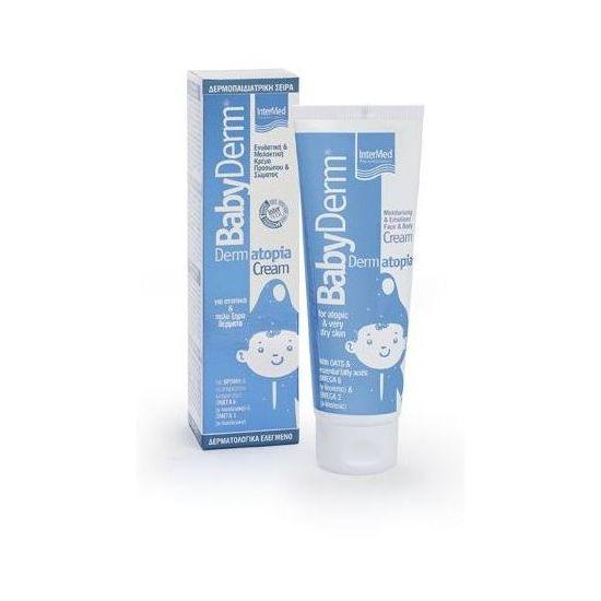 Intermed Babyderm Dermatopia Cream Κρέμα Προσώπου/Σώματος για Ατοπικά & Πολύ Ξηρά Δέρματα 125ml