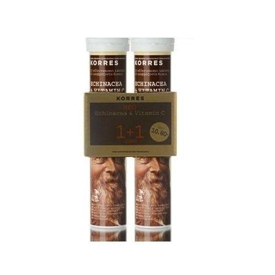 Korres Echinacea & Vitamin C 2 x 20 Αναβράζοντα Δισκία