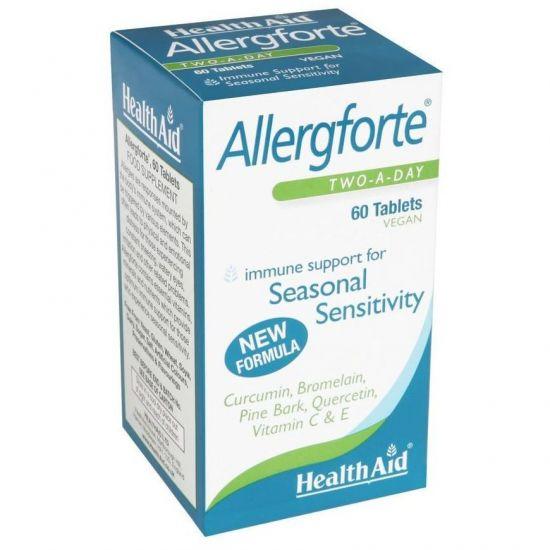 Health Aid Allergforte, 60tabs