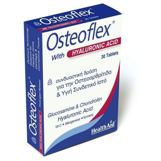Health Aid OSTEOFLEX with HYALURONIC, 30 Tabs
