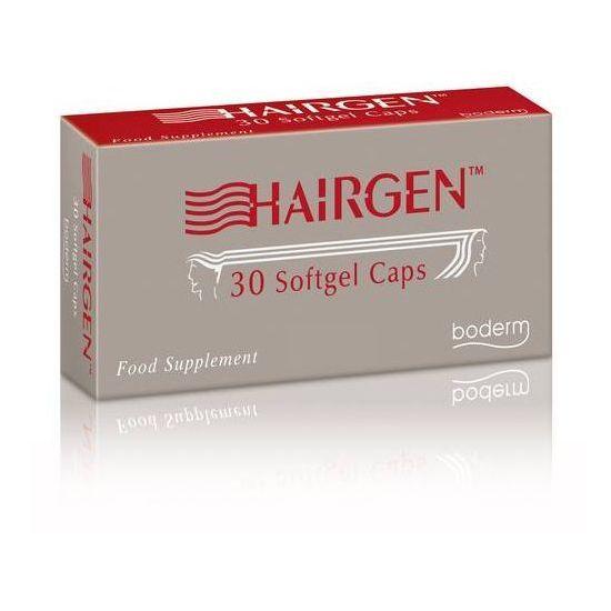Boderm Hairgen Συμπλήρωμα Διατροφής κατά της Τριχόπτωσης, 30 softgels