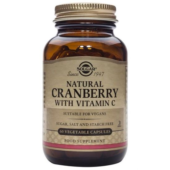 Solgar Cranberry Extract with Vitamin C, 60caps