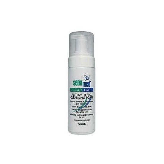 Sebamed Clear Face Antibacterial Cleansing Foam, 150ml