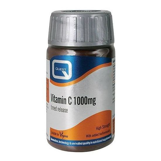 Quest Vitamin C 1000mg Timed Release, 60tabs
