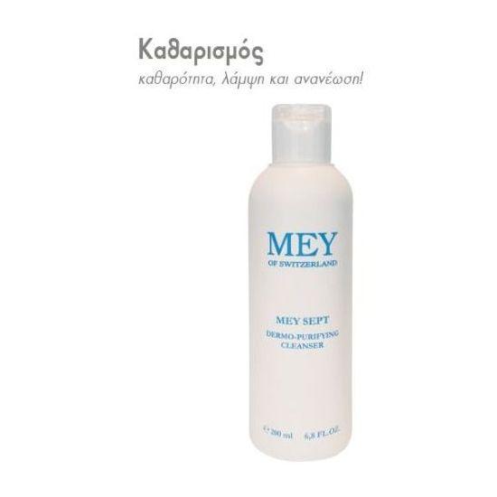 Meysept Dermo-Purifying Cleanser Αντισηπτικό Υγρό Καθαρισμού, 200 ml