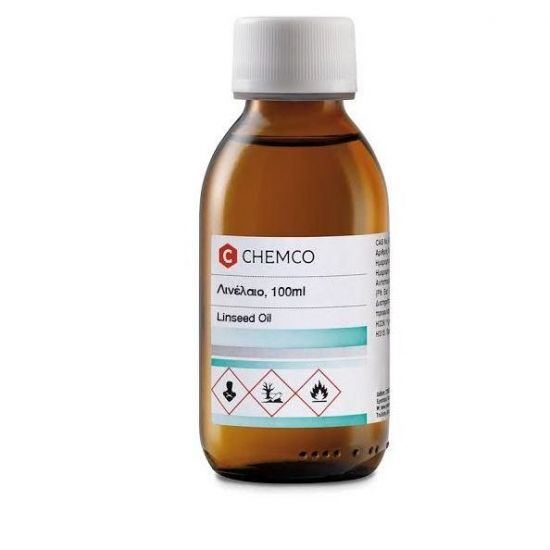 Chemco Linseed Oil Λινέλαιο, 100ml