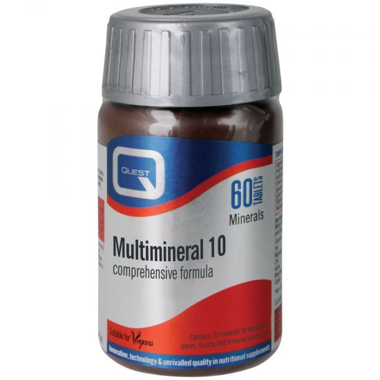 Quest Multimineral 10, 60tabs