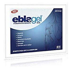 Euromed Eblagel Ice Gel 14x10 cm, 2τμχ