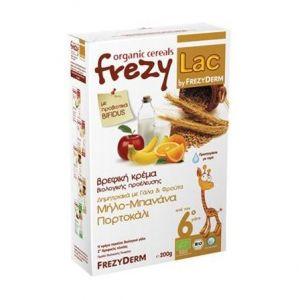 Frezyderm Frezylac Bio Cereal Δημητριακά-Γαλα-Φρουτα 200gr