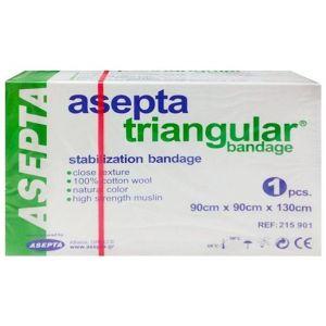 Asepta Triangular Bandage Τριγωνικός Επίδεσμος, 1τμχ