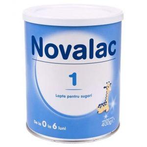 Novalac 1 Βρεφικό Γάλα σε Σκόνη εως τον 6μήνα 400gr