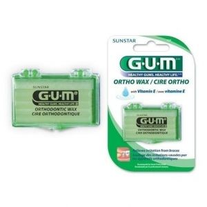 GUM Orthodontic Wax Unflavored (723), 1τμχ
